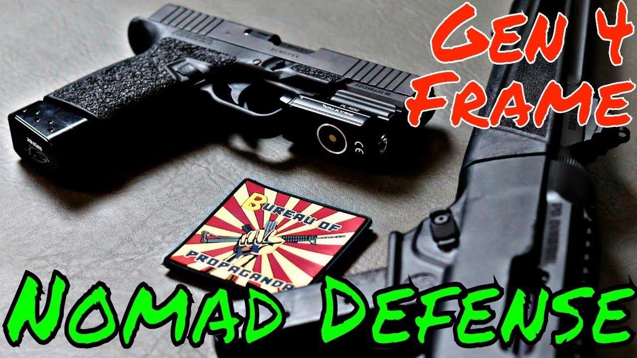Nomad Defense Dominates Glock Frames! - YouTube