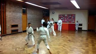 Jiyu Kumite BWCSK Weoley Castle Dojo 20190211