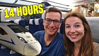 14 HOURS ON A CHINESE BULLET TRAIN (Shanghai to Chengdu) | China Travel