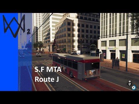 San Francisco MTA - Route J