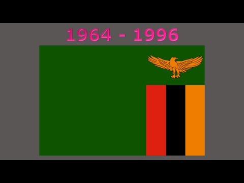 History of the Zambian flag
