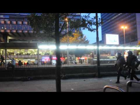 Manchester Riots Tuesday 9th August 2011 HD