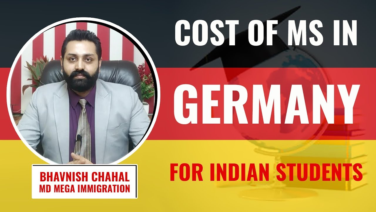 Cost of MS in Germany for Indian Students | MS in Germany Cost in Indian  Rupees