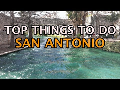 Top Things To Do In San Antonio, Texas 4K
