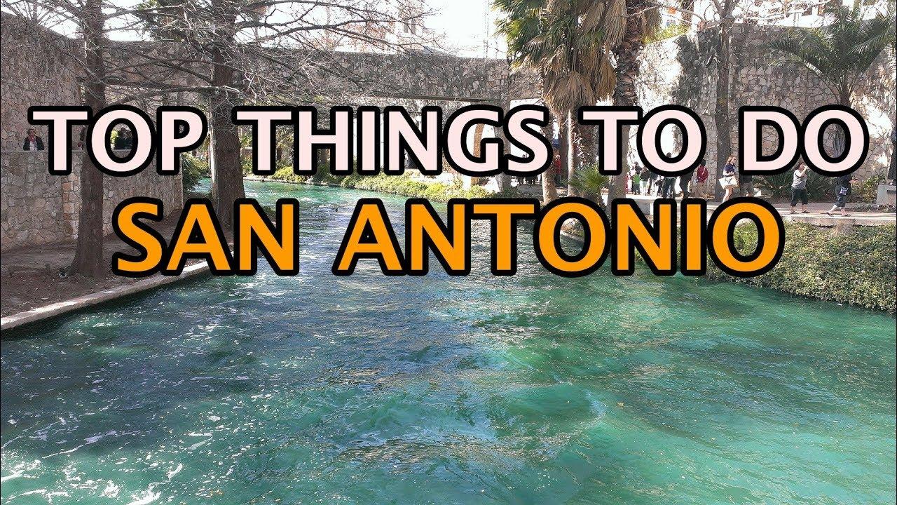 Top Things To Do In San Antonio Texas 4k Youtube
