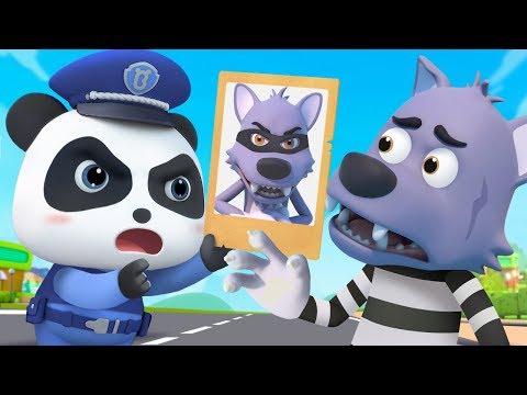 奇奇抓小偷 | 學顏色兒歌童謠 | 卡通 | 動畫 | 寶寶巴士 | BabyBus