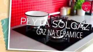 Płyta gazowa Solgaz GNC 4-AUTO z płomieniami - recenzja | DOROTA.iN