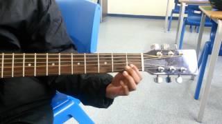 Burung Kaka Tua Guitar Lesson