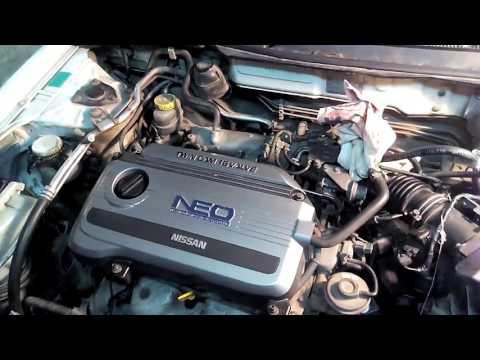 Диагностика давления топлива в NISSAN SUNNY