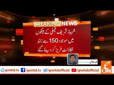 More than 150 accounts of Sharif Family frozen