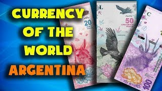 Currency of the world - Argentina. Argentine peso. Exchange rates Argentina. Argentinian banknotes