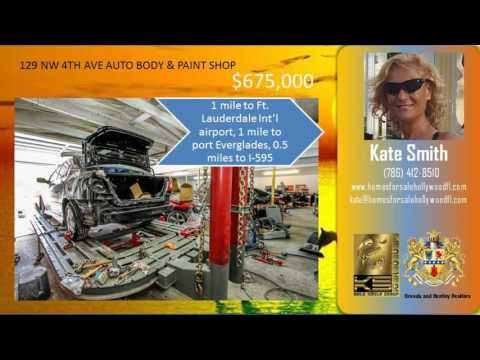 For Sale Auto-body Shop   129 NW 4TH AVE   Dania Beach FL