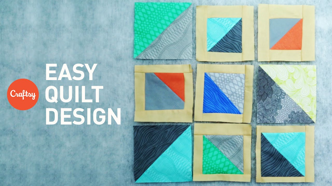 How To Design A Quilt No Pattern Needed Quilting Tutorial
