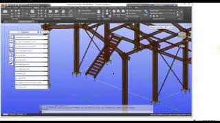 01 Generate Detail Drawings using Advance Steel 2017