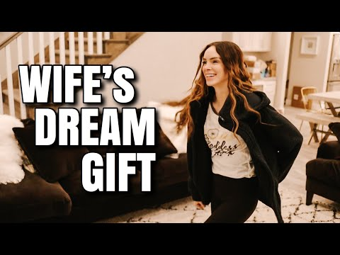 Surprising My WIFE With Her DREAM GIFT!