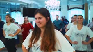 Флешмоб к юбилею гостиницы Волга Ульяновск