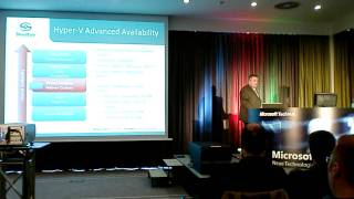 Part 4: Hyper-V Disaster Recovery Presentation at Microsoft TechDays Germany
