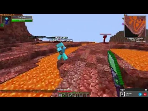 Minecraft - RPG KERON  - Рпг сервер - Фарм мира Лавы и Льда