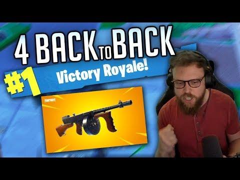 4 Back to Back - Fortnite Gameplay #66 (StoneMountain64 Facebook Gaming Squad)