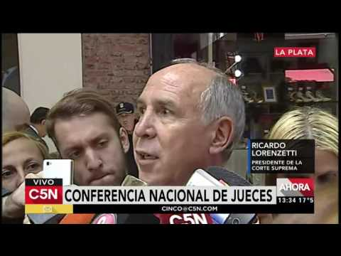 C5N - Justicia: conferencia nacional de jueces en La Plata