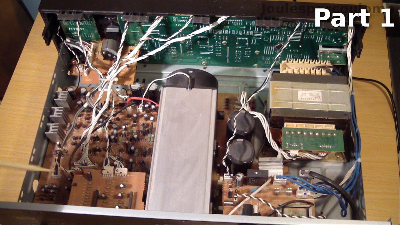 Teac A-r600 Amplifier Repair  Part 1
