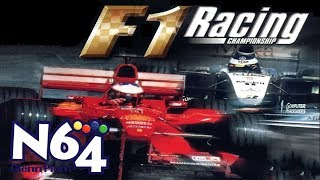 F1 Racing Championship - Nintendo 64 Review - Ultra HDMI - HD