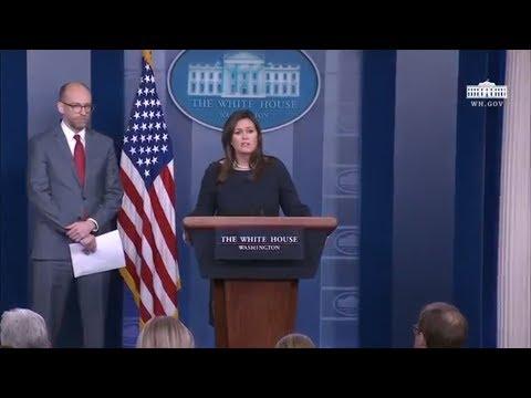 3/11/19: White House Press Briefing