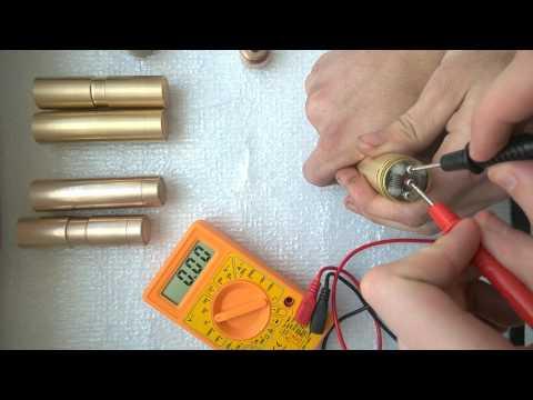 Самодельный мехмод, сборка, тест, обзор. Замер просадок (Mechanical MOD) #5