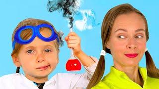 Canción infantil sobre ciencia - Canciones Infantiles | Maya y Mary