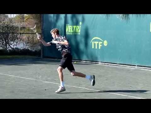 Andrey Rublev - Orange Bowl 2014 - slow motion video