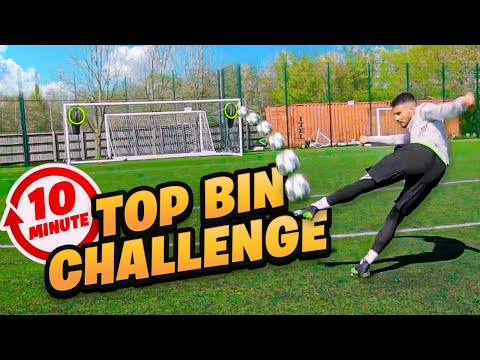 IMPOSSIBLE 10 MINUTE TOP BINS CHALLENGE! 🤯⏳🔝🗑 Thumbnail