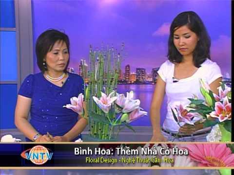 Floral Design : Nghệ Thuật Cắm Hoa - Thềm Nhà Có Hoa