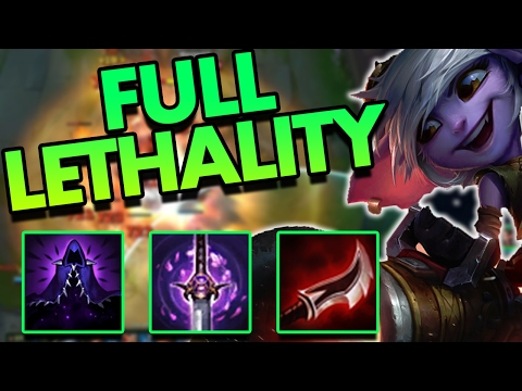 FULL LETHALITY TRISTANA MID IS INSANELY BUSTED!! (ONE SHOT CITY) - League of Legends Commentary