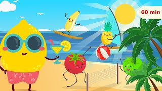 Happy Fun Beach and Happy Music for Kids | Lullaby for Kids & Babies