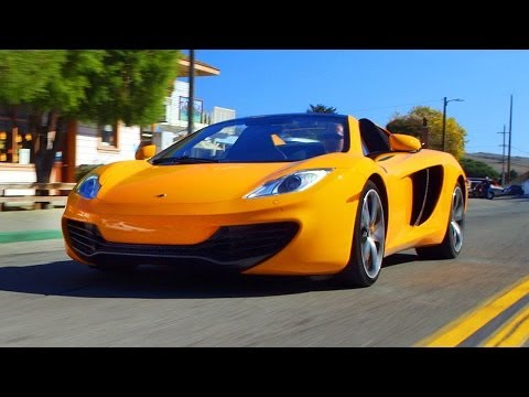 2013 McLaren 12C Spider Runs Wide Open in Marin County! - Epic Drives Ep. 26