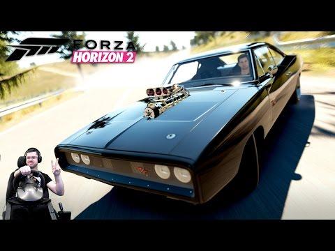 С понтом тюненый Dodge Charger R/T Fast & Furious Edition - Forza Horizon 2