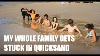 Lake Michigan Quicksand