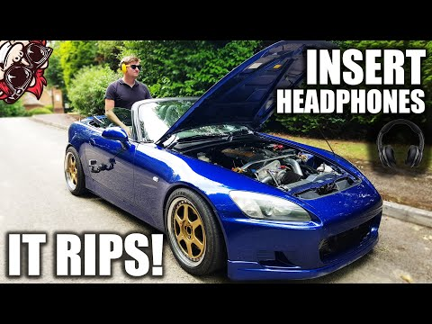 🐒 THIS SUPERCHARGED HONDA S2000 WILL BLOW YOUR MIND! (AND EARS)