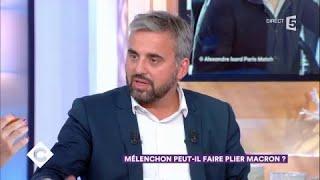 Alexis Corbière : Mélenchon peut-il faire plier Macron ? - C à Vous - 20/09/2017
