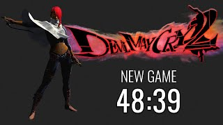 Devil May Cry 2 Lucia New Game - 48:39