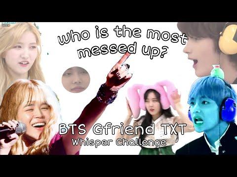 Bighit Labels VS Whisper Challenge ( BTS Gfriend TXT )