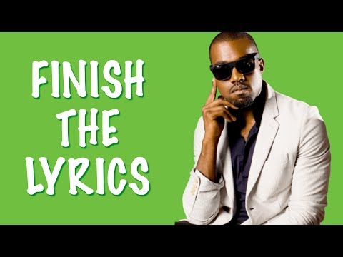 FINISH THE LYRICS: Songs of the 2000s