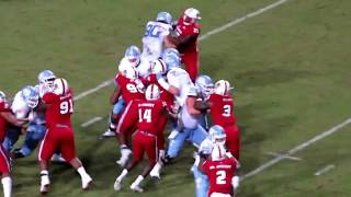 Germaine Pratt vs. UNC (10 TKL, 1 TFL, 1 INT)