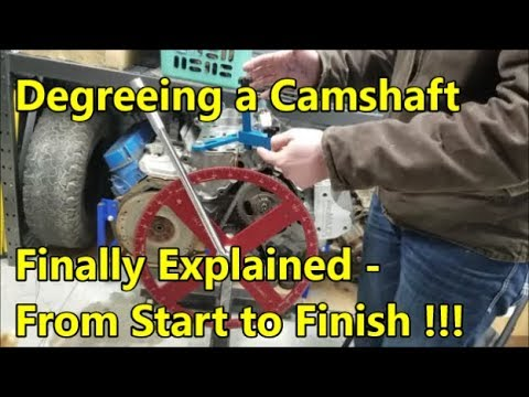 Degreeing a Camshaft Made Easy: Explained & Demonstrated (ENGINE BUILDING  ESSENTIALS)