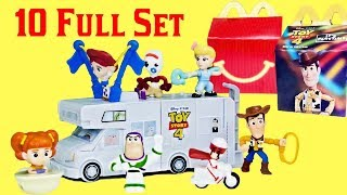 2019 Toy Story 4 McDonalds Happy Meal | Full Set Build your own RV