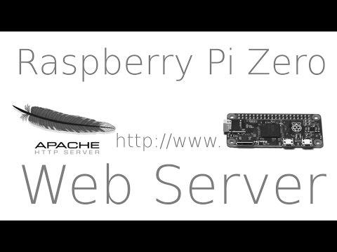 Raspberry Pi Zero Web Hosting - Web Server