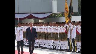 State welcome for South Korean president