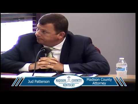 Madison County Fiscal Court - 7-24-2018