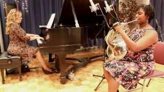 Kyra Sims, horn & Ellen Bottorff, piano, F. Strauss Notturno for horn & piano