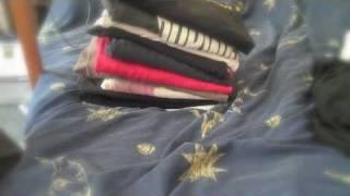 T-Shirt folding porn.  Day 139 365 (2010)